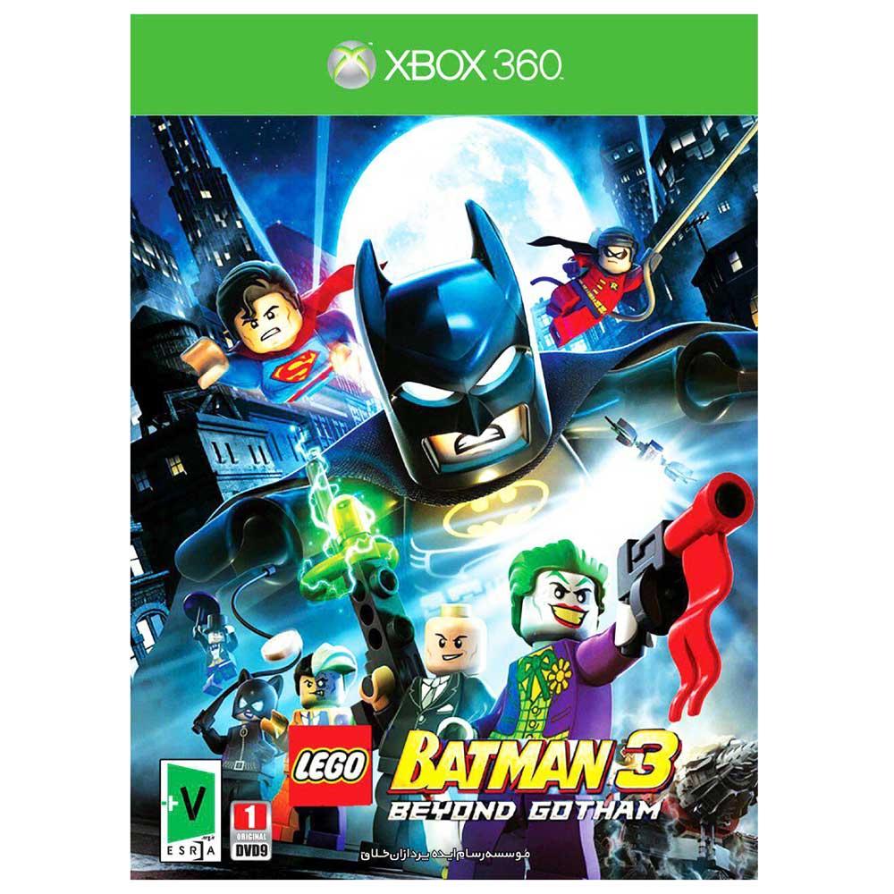بازی LEGO Batman 3 beyond Gotham مخصوص xbox 360