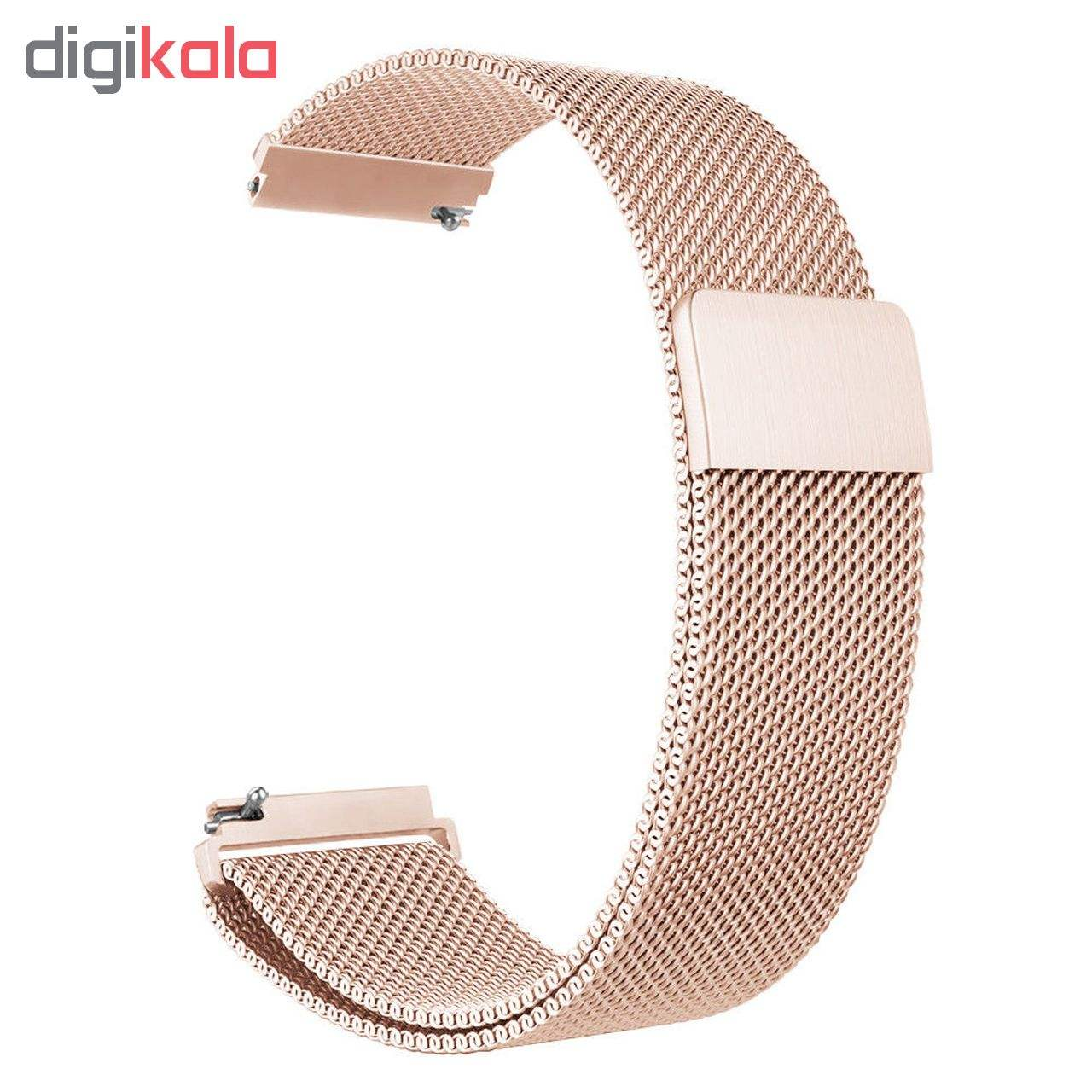 بند فلزی ساعت هوشمند مدل Magnetic-S10 مناسب برای سامسونگ Gear S3 main 1 9