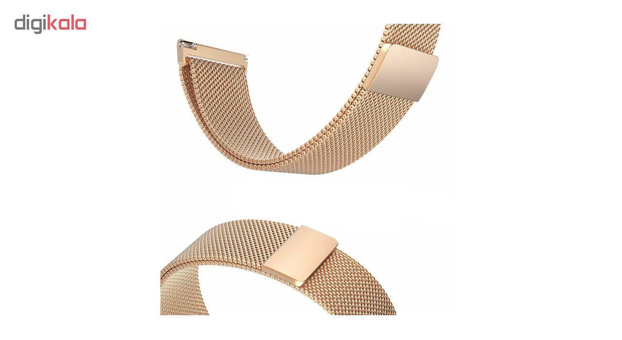 بند فلزی ساعت هوشمند مدل Magnetic-S10 مناسب برای سامسونگ Gear S3 main 1 12