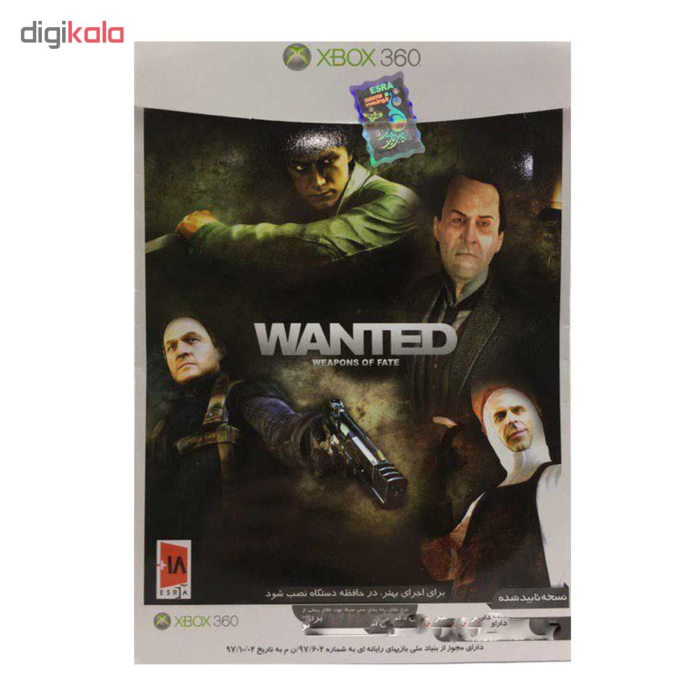 بازی Wanted Weapons of Fate مخصوص xbox 360