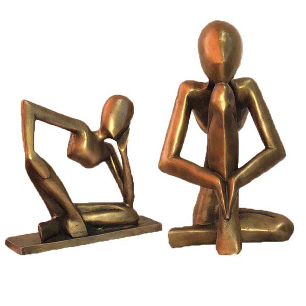 مجسمه طرح یوگا بسته 2 عددی