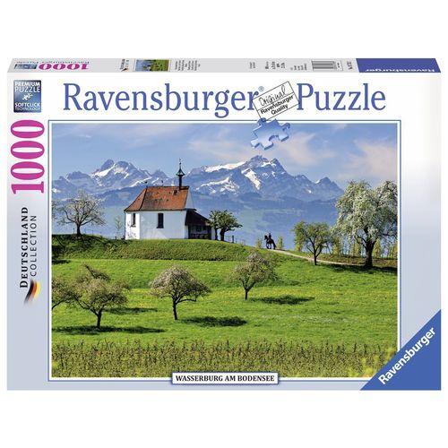 پازل 1000 تکه راونزبرگر مدل Wasserburg Am Bodensee