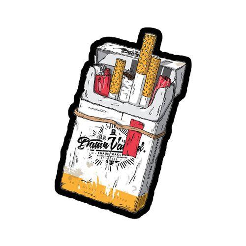 استیکر تزئینی موبایل طرح سیگار کد 77