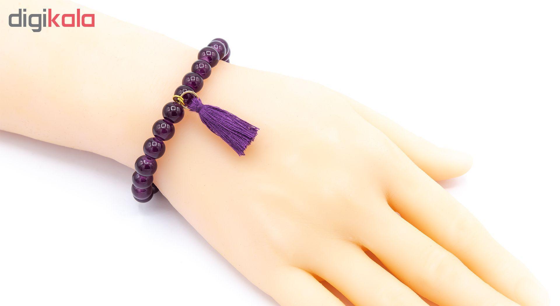 دستبند زنانه بهارگالری مدل Pendant سایز Free Size main 1 4
