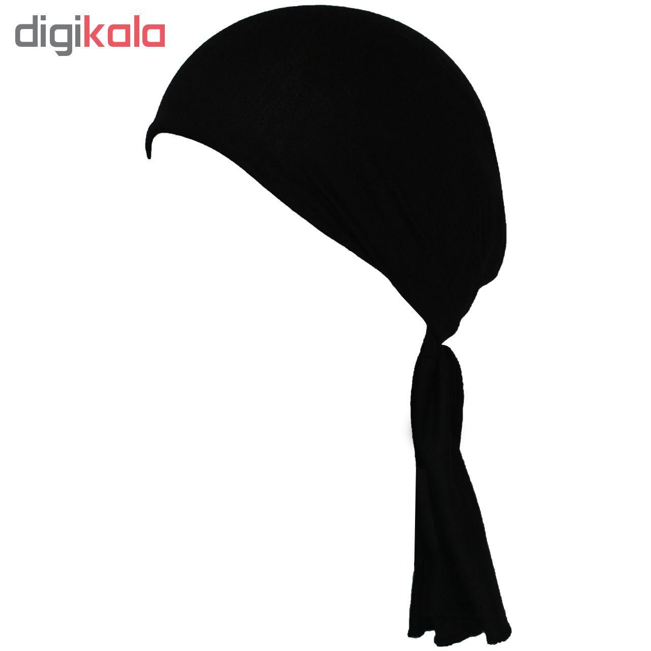 دستمال سر و گردن چابوک طرح Black1 C مدل C400