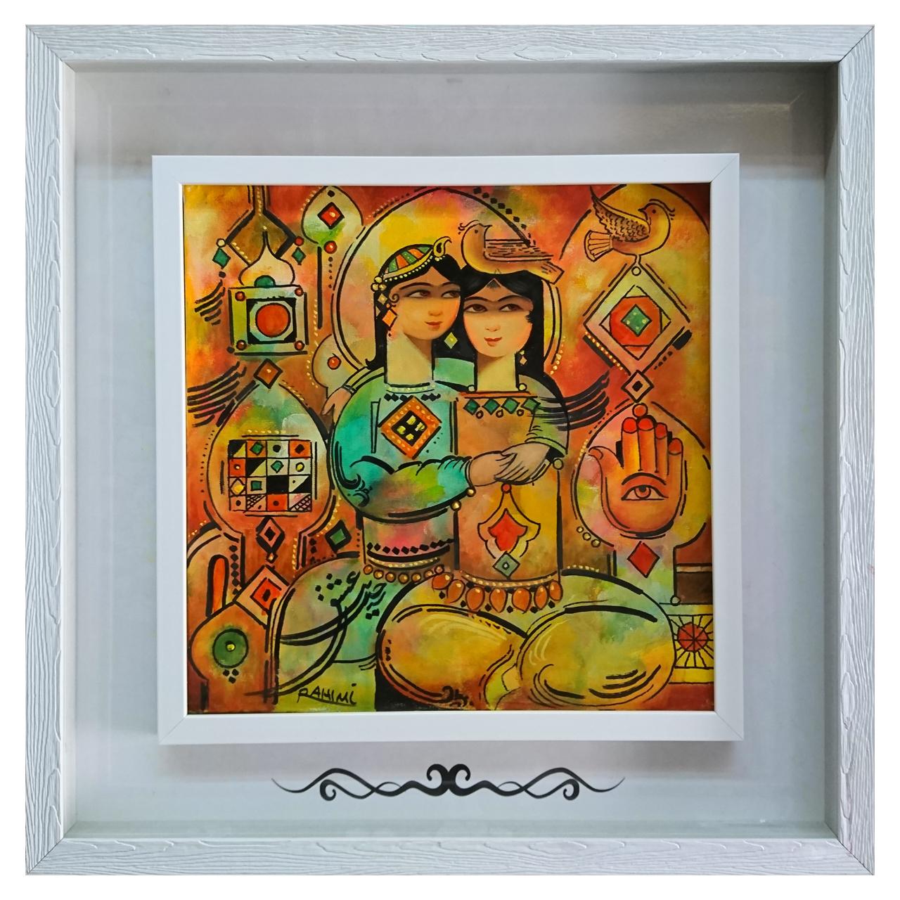 خرید                      نقاشی لیلی و مجنون کد A27