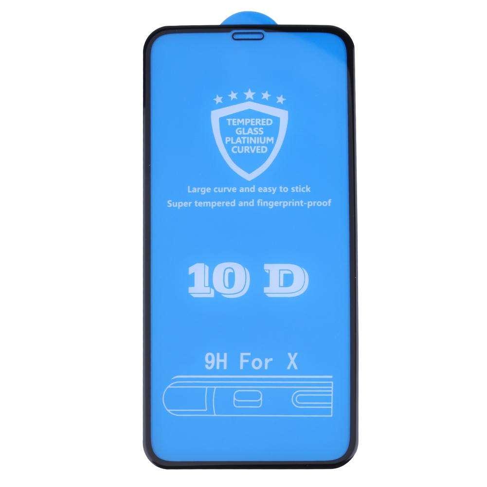 محافظ صفحه نمایش 10d مدل tn10 مناسب برای گوشی موبایل آیفون x
