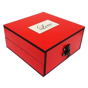جعبه هدیه چوبی کادویی آیهان باکس مدل 42