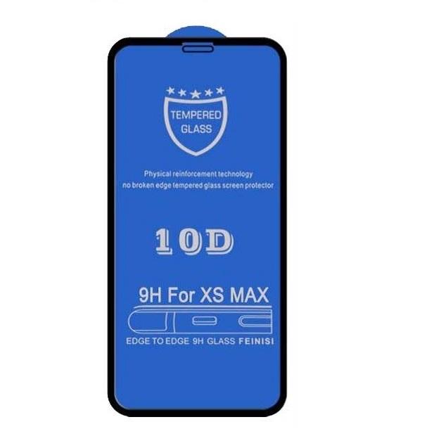 محافظ صفحه نمایش 10d مدل tn10 مناسب برای گوشی موبایل آیفون xs max