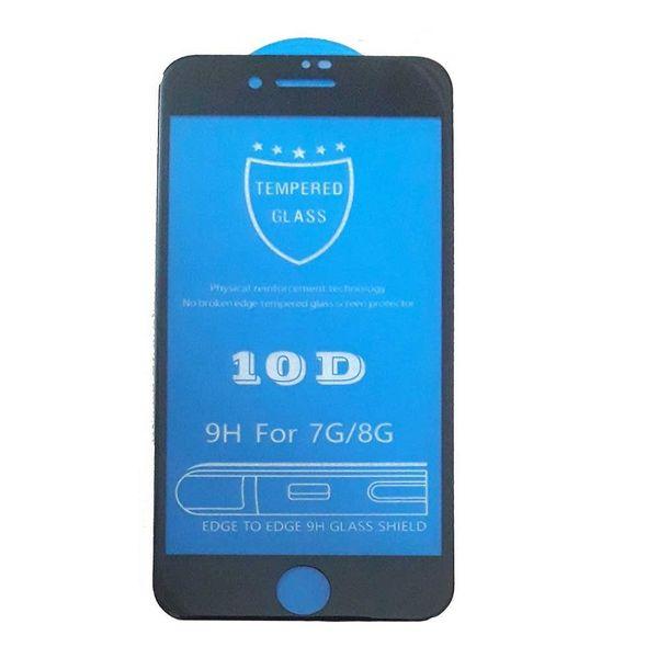 محافظ صفحه نمایش 10d مدل tn10 مناسب برای گوشی موبایل آیفون 8
