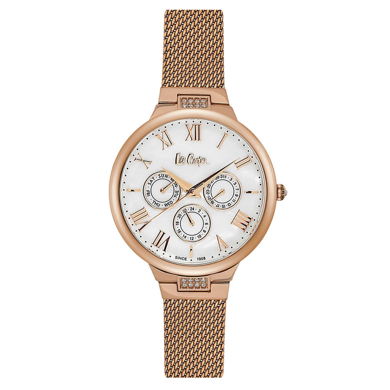 ساعت مچی عقربه ای زنانه لی کوپر مدل LC06521.420