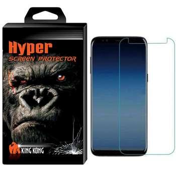 محافظ صفحه نمایش شیشه ای تمپرد کینگ کونگ مدل Hyper Protector مناسب برای گوشی موبایل Samsung Galaxy A7 2018