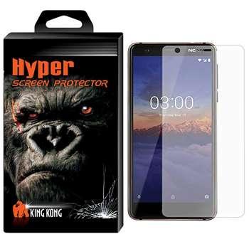 محافظ صفحه نمایش شیشه ای تمپرد کینگ کونگ مدل Hyper Protector مناسب برای گوشی موبایل Nokia 3.1