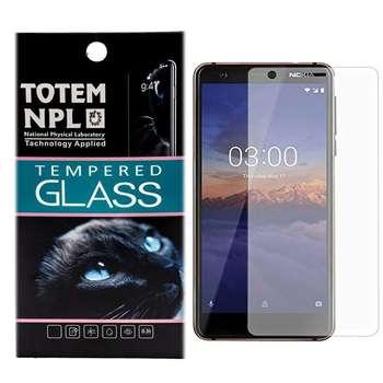 محافظ صفحه نمایش شیشه ای توتم مدل Tempered مناسب برای گوشی موبایل Nokia 3.1