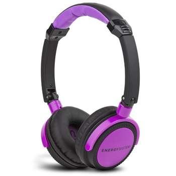 هدفون انرژی سیستم مدل Energy DJ 400 Black / Violet