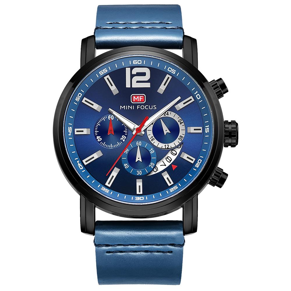 ساعت مچی عقربه ای مردانه مینی فوکوس مدل mf0086g.3