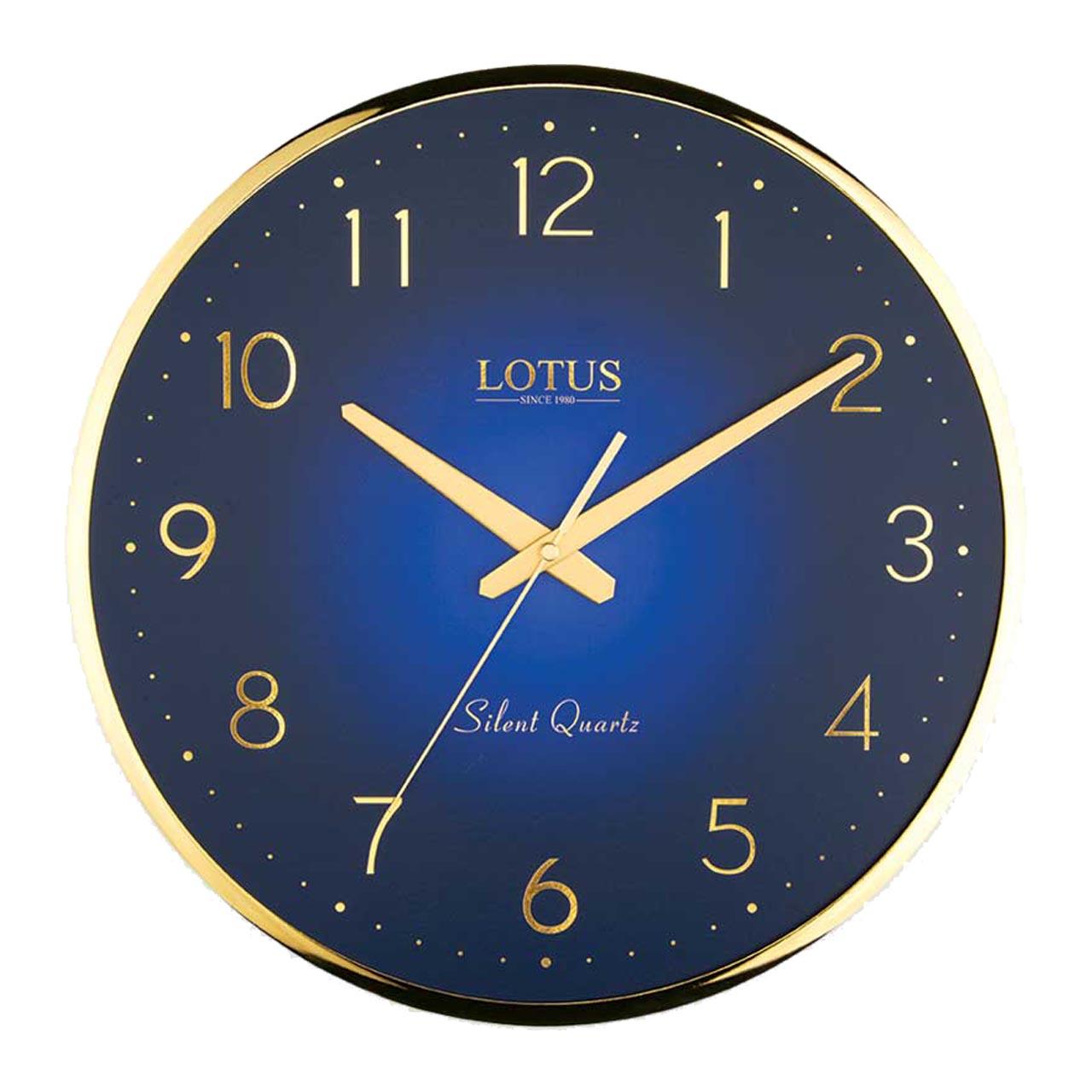 ساعت دیواری لوتوس مدل CHARLIE-M-6613