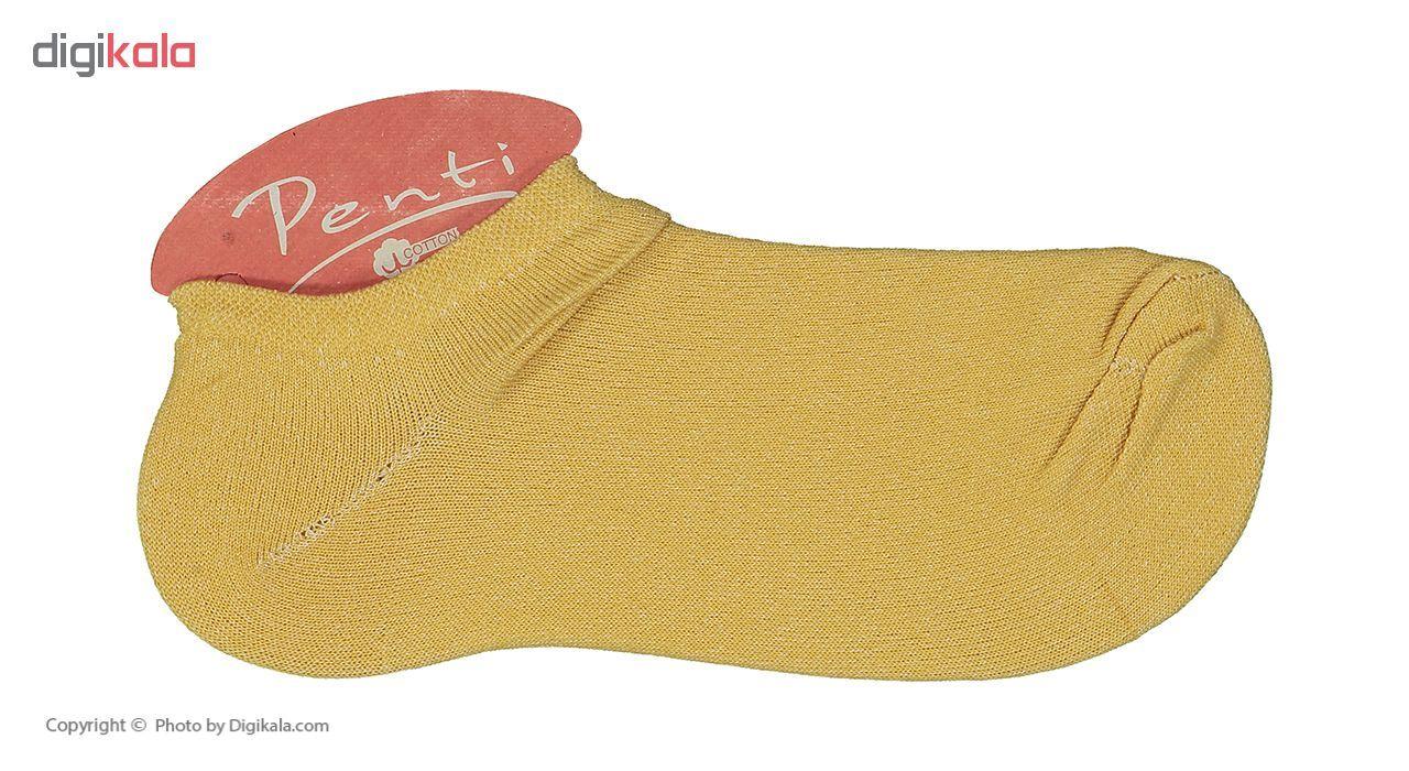 جوراب زنانه پنتی مدل Mul14 بسته 12 عددی main 1 37
