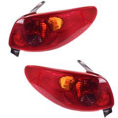 چراغ خطر عقب  راست و چپ جمع ساز مدل RADFAR 5964 مناسب برای پژو 206 بسته دو عددی