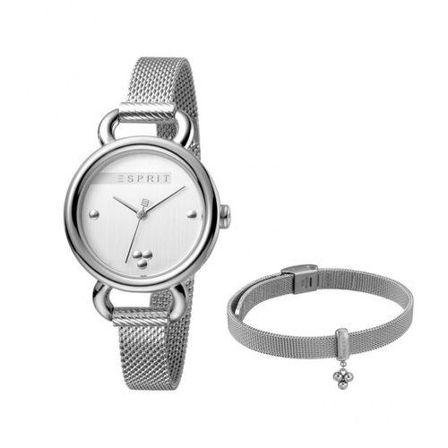 ست دستبند و ساعت مچی عقربه ای زنانه اسپریت مدل ES1L023M0035