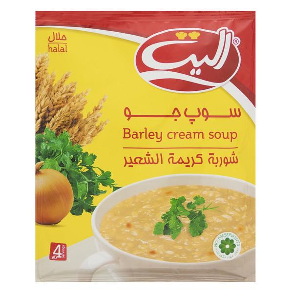 سوپ نیمه آماده جو الیت مقدار 68 گرم
