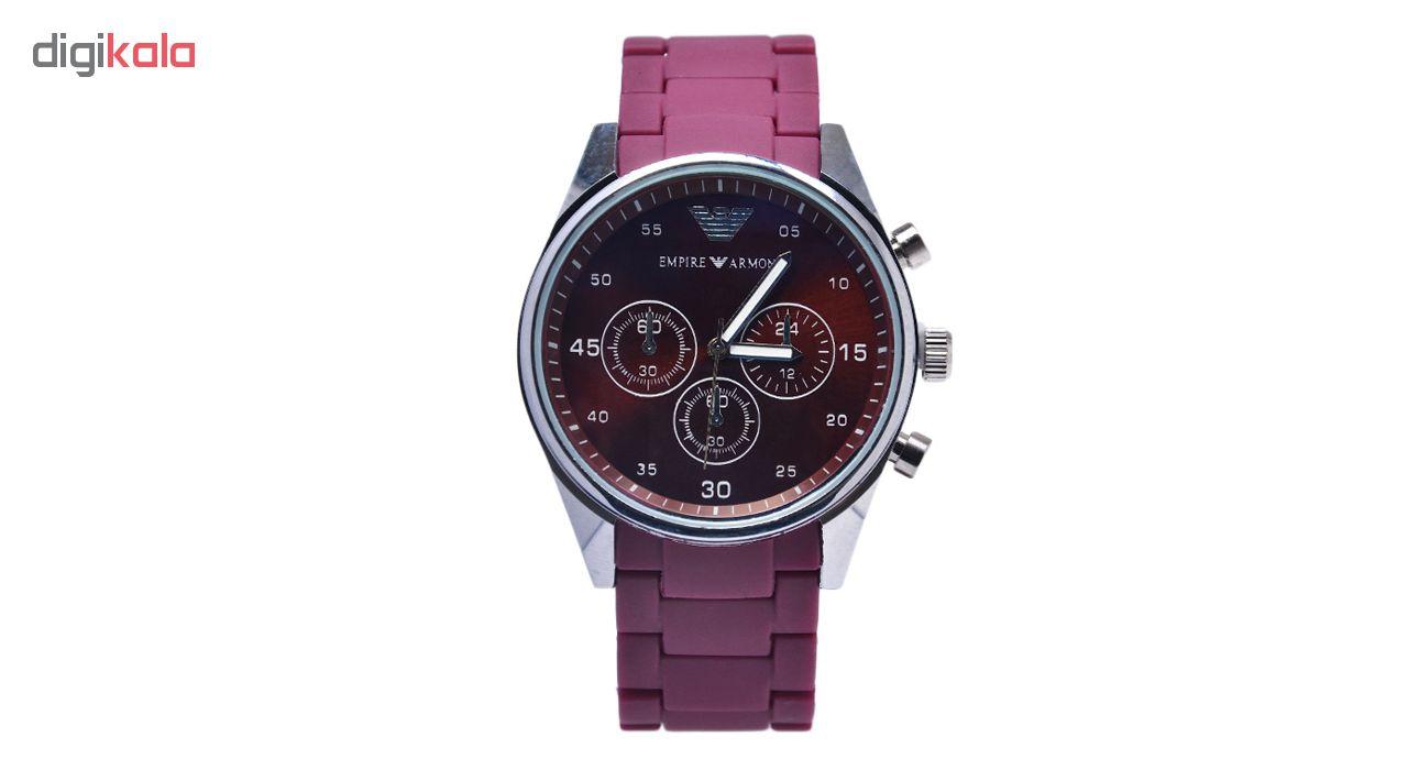خرید ساعت مچی عقربه ای مردانه امپایر آرمونی کد Emp-Red | ساعت مچی