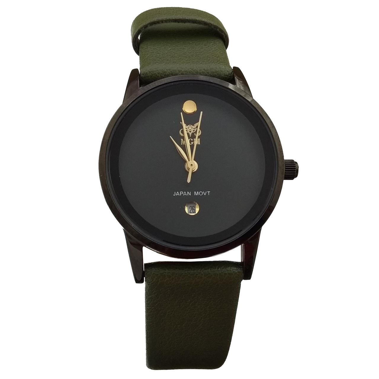 خرید ساعت مچی عقربه ای زنانه ام جی ام کد 1104A