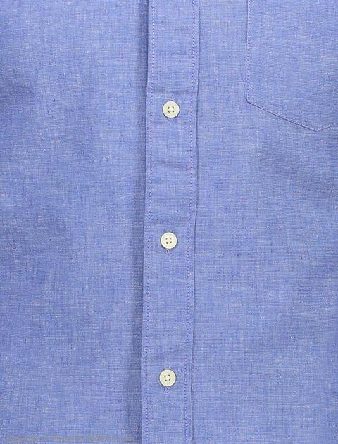 پیراهن مردانه سلکتد مدل 16061810-Medium Blue Melange -  - 5