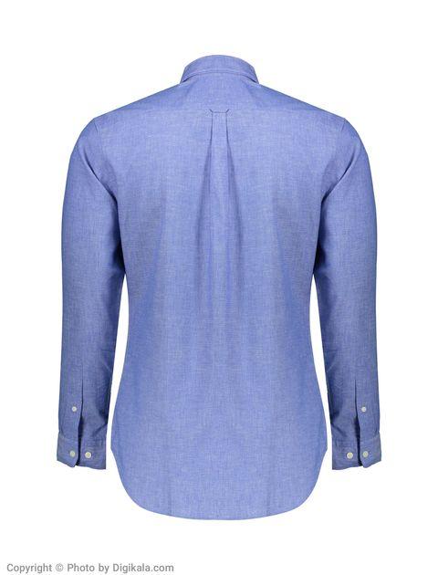 پیراهن مردانه سلکتد مدل 16061810-Medium Blue Melange -  - 2