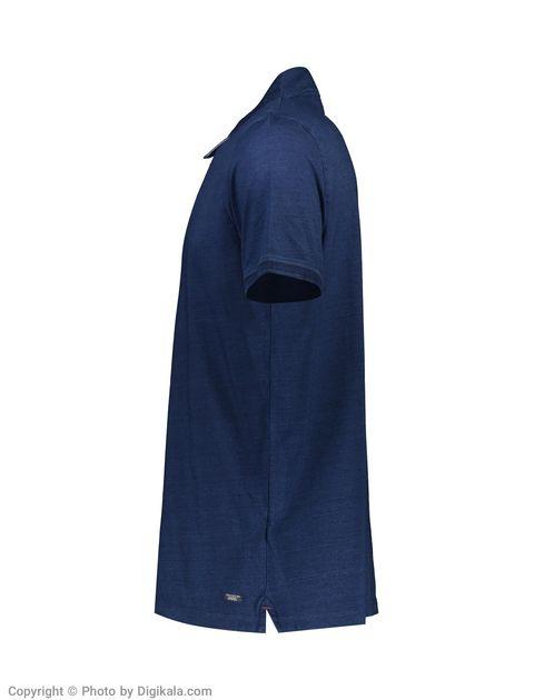 پولوشرت مردانه جک اند جونز مدل 12133879-Dark Blue Denim -  - 3