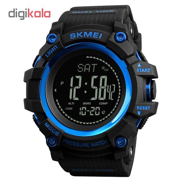 ساعت مچی دیجیتال مردانه اسکمی مدل 1358 کد 03