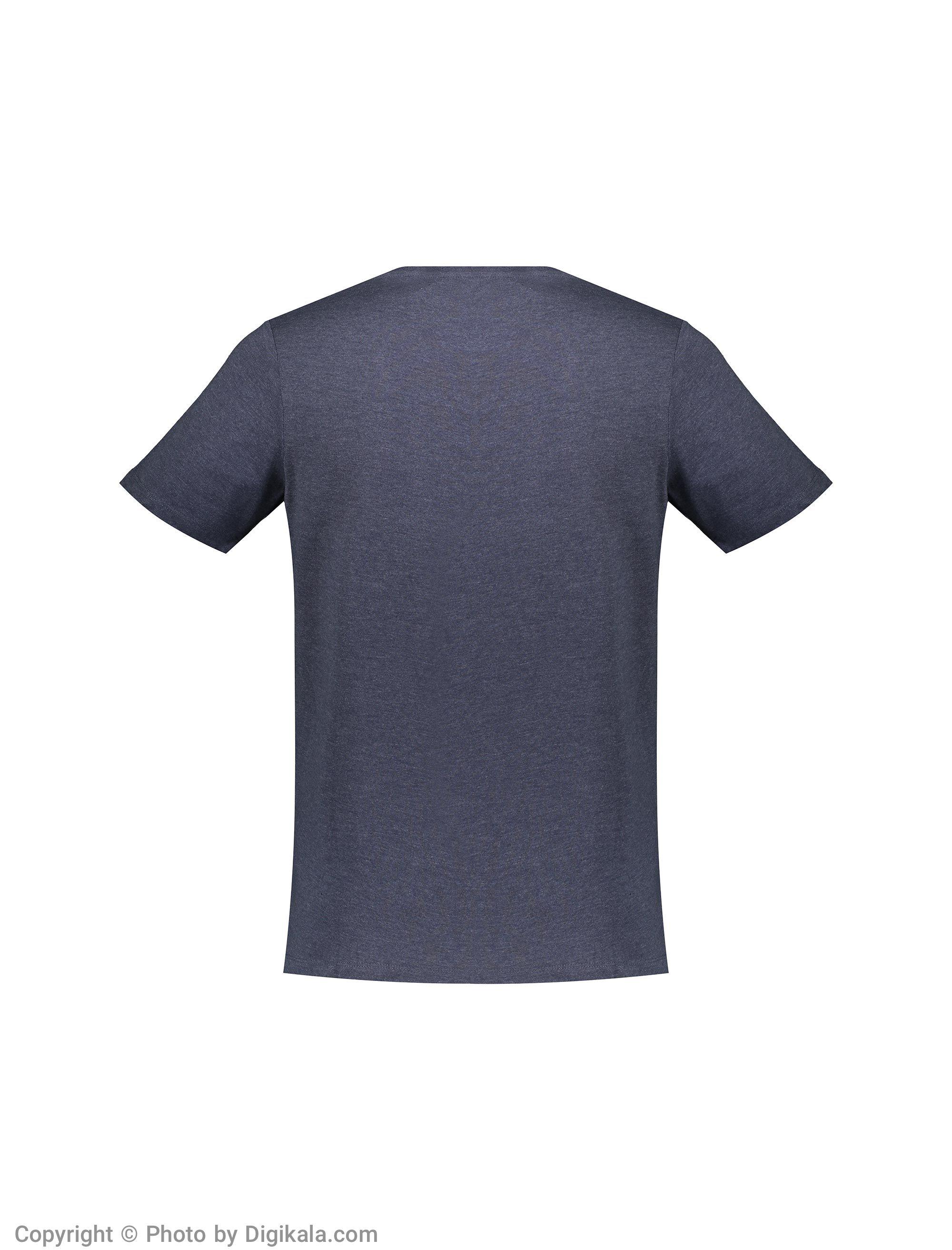 تی شرت مردانه جک اند جونز مدل 12136711-Navy -  - 5