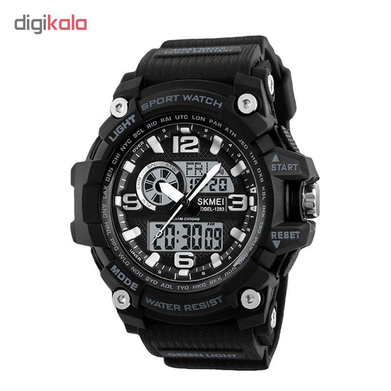 خرید ساعت مچی دیجیتال مردانه اسکمی مدل 1283 کد 01