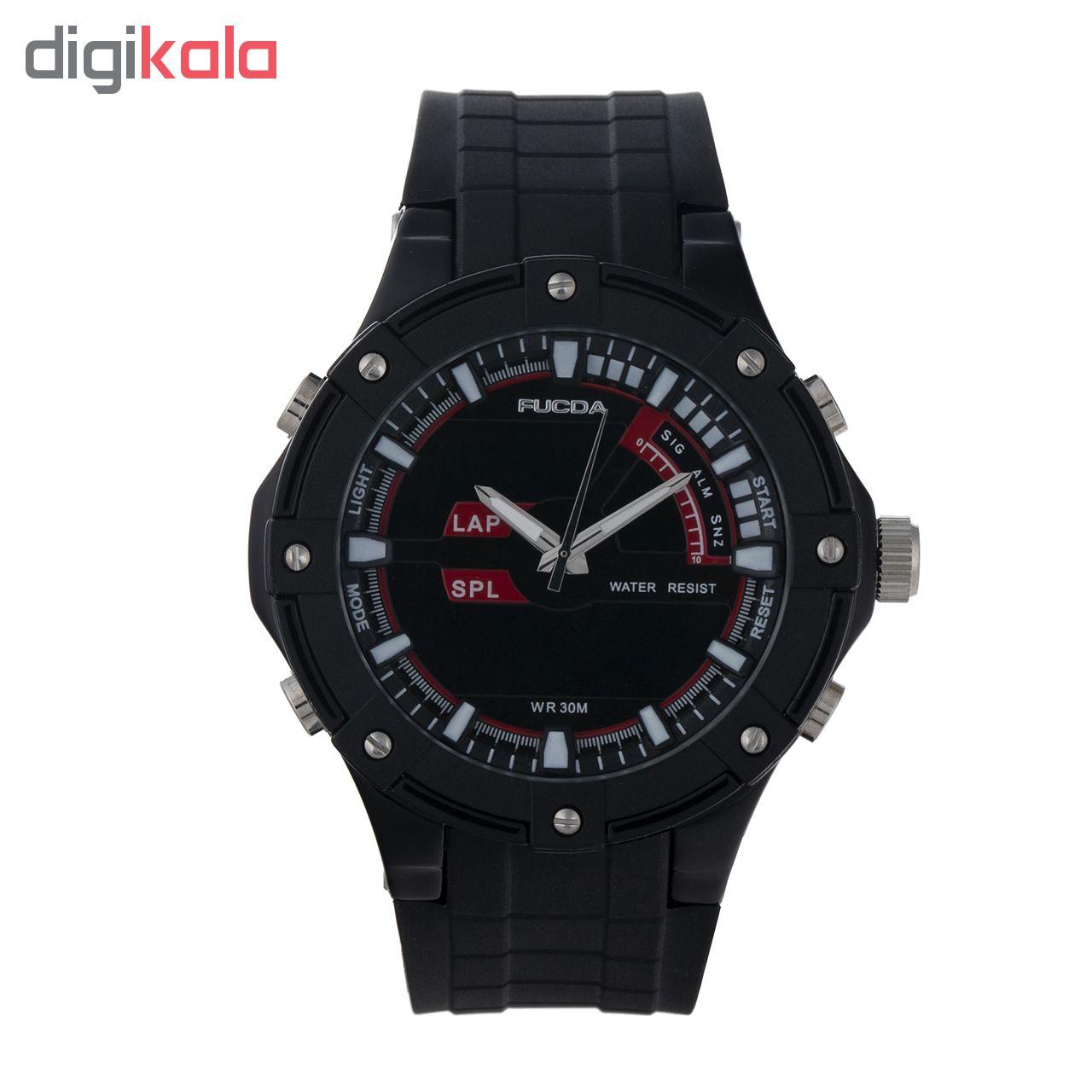 خرید ساعت مچی عقربه ای مردانه فوکدا مدل fcd4
