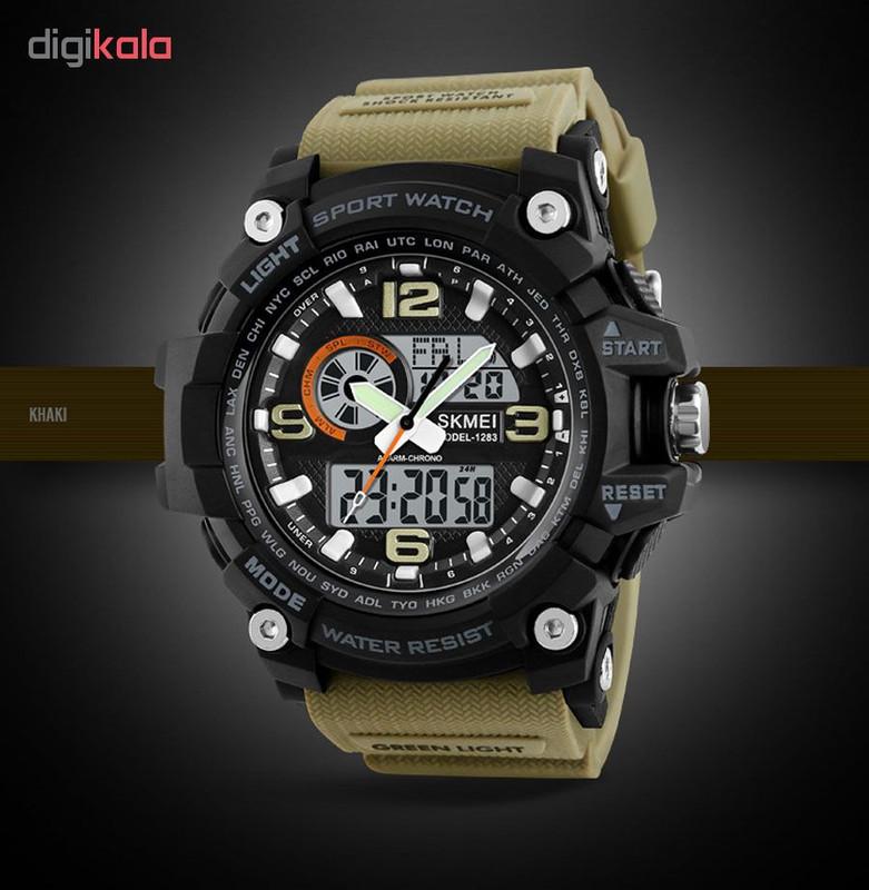 ساعت مچی دیجیتال مردانه اسکمی مدل 1283 کد03