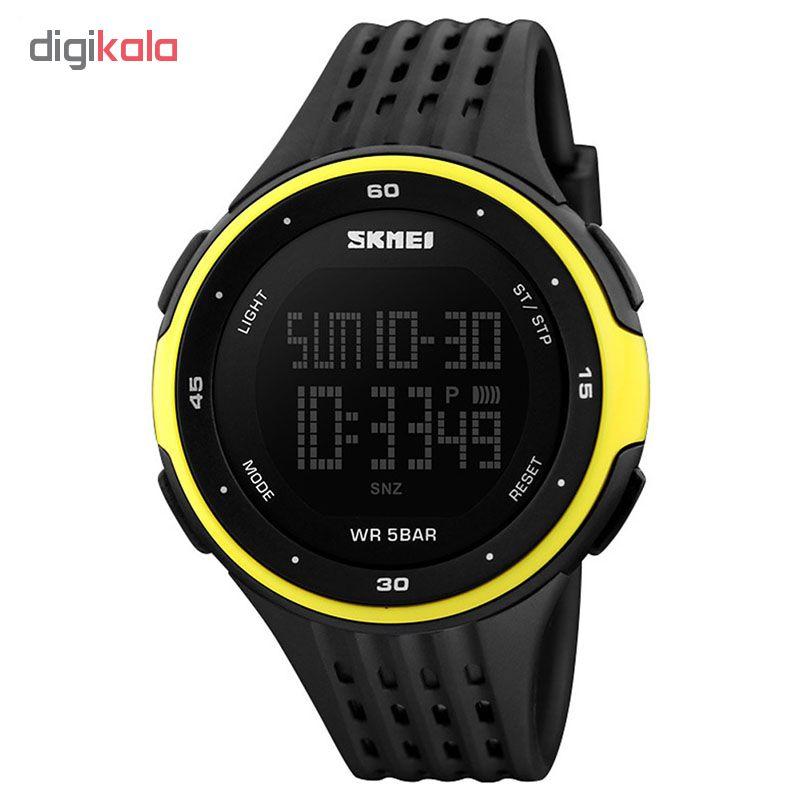 ساعت مچی دیجیتال مردانه اسکمی مدل S1219/yellow