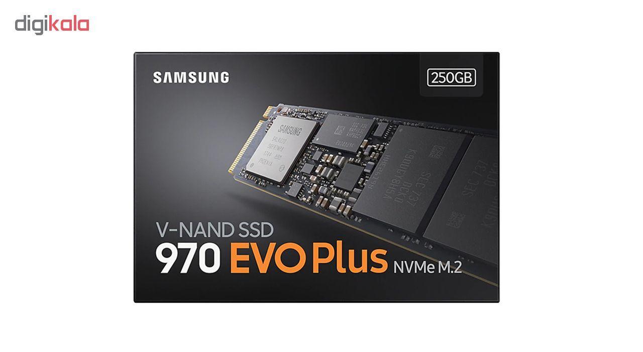 اس اس دی اینترنال سامسونگ مدل 970EVO PLUS ظرفیت 250 گیگابایت main 1 2