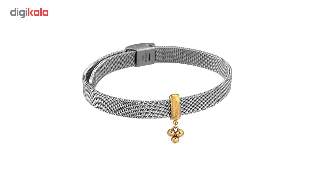 ست دستبند و ساعت مچی عقربه ای زنانه اسپریت مدل ES1L023M0065