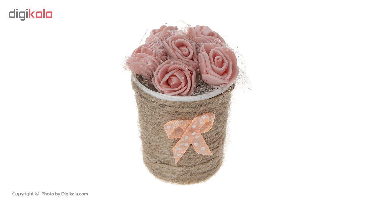گلدان گل مصنوعی مدل MOHAMADI-3 بسته 3 عددی main 1 2