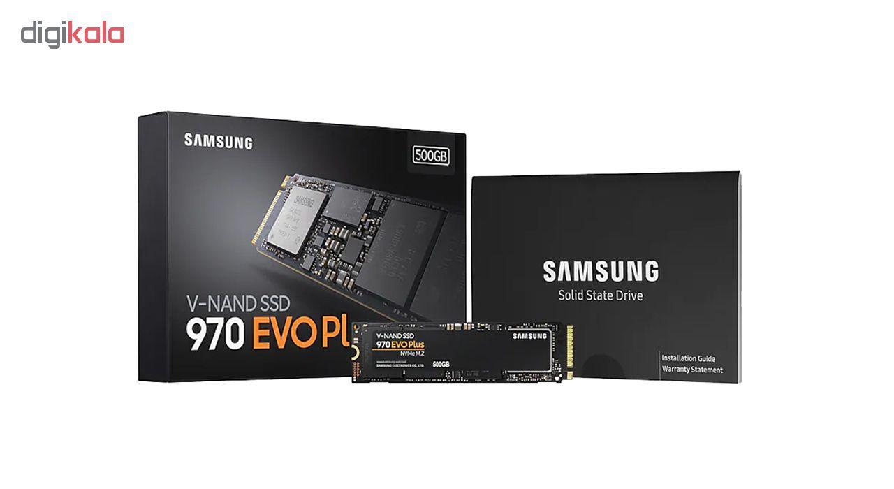 اس اس دی اینترنال سامسونگ مدل 970 EVO PLUS ظرفیت 500 گیگابایت main 1 5