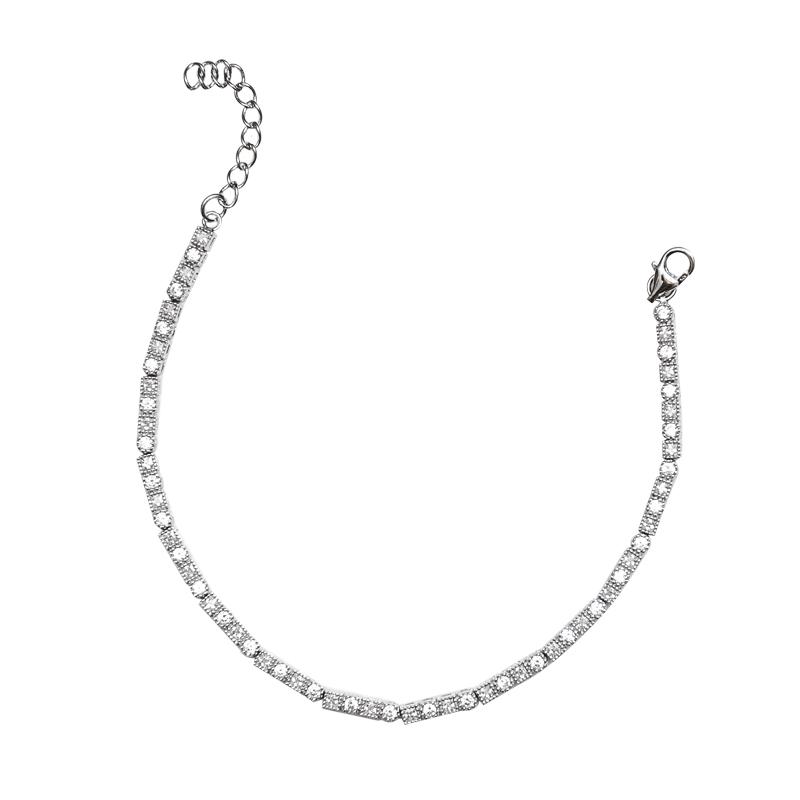 دستبند نقره زنانه شهر جواهر مدل SJ-BC033