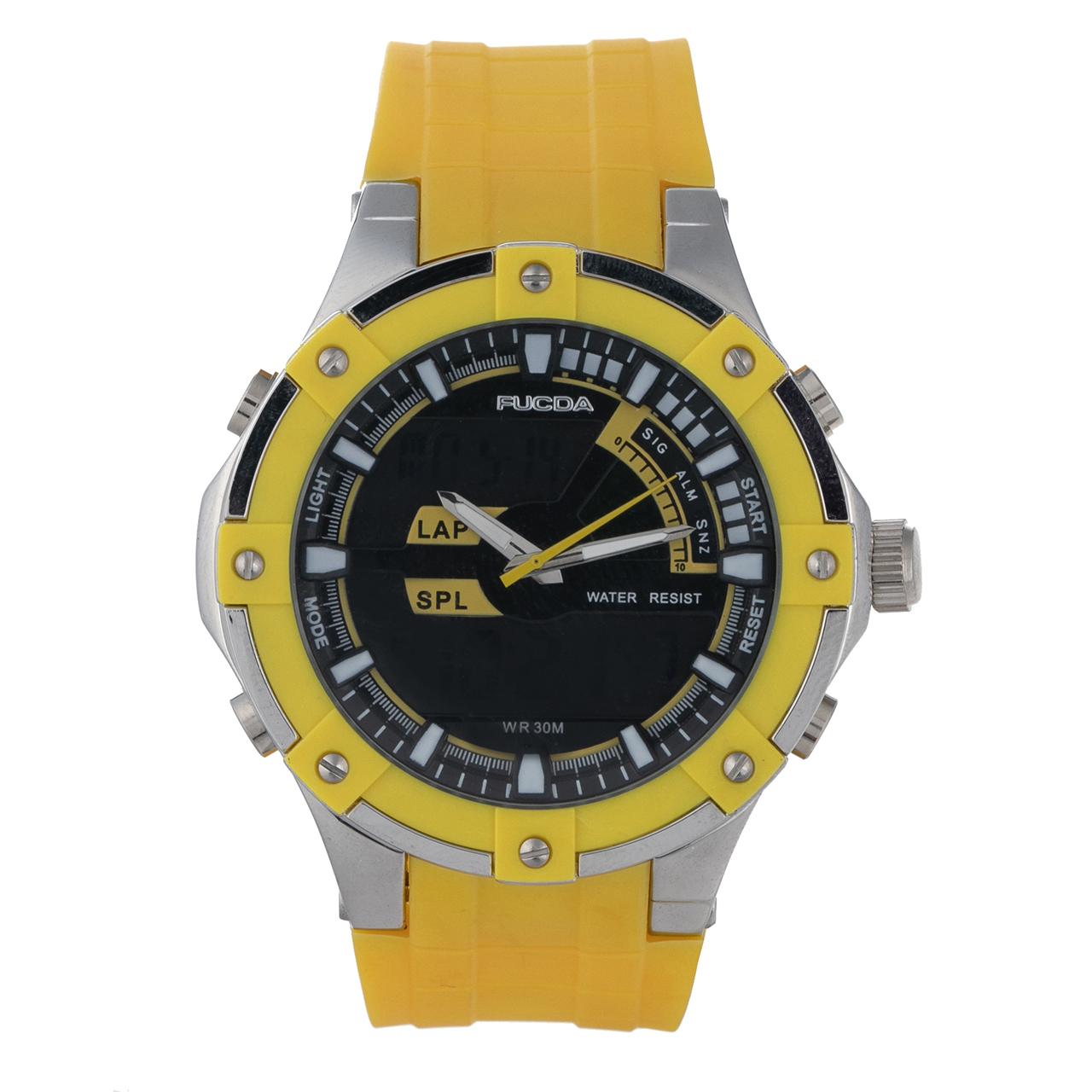 ساعت مچی عقربه ای مردانه فوکدا مدل fcd8