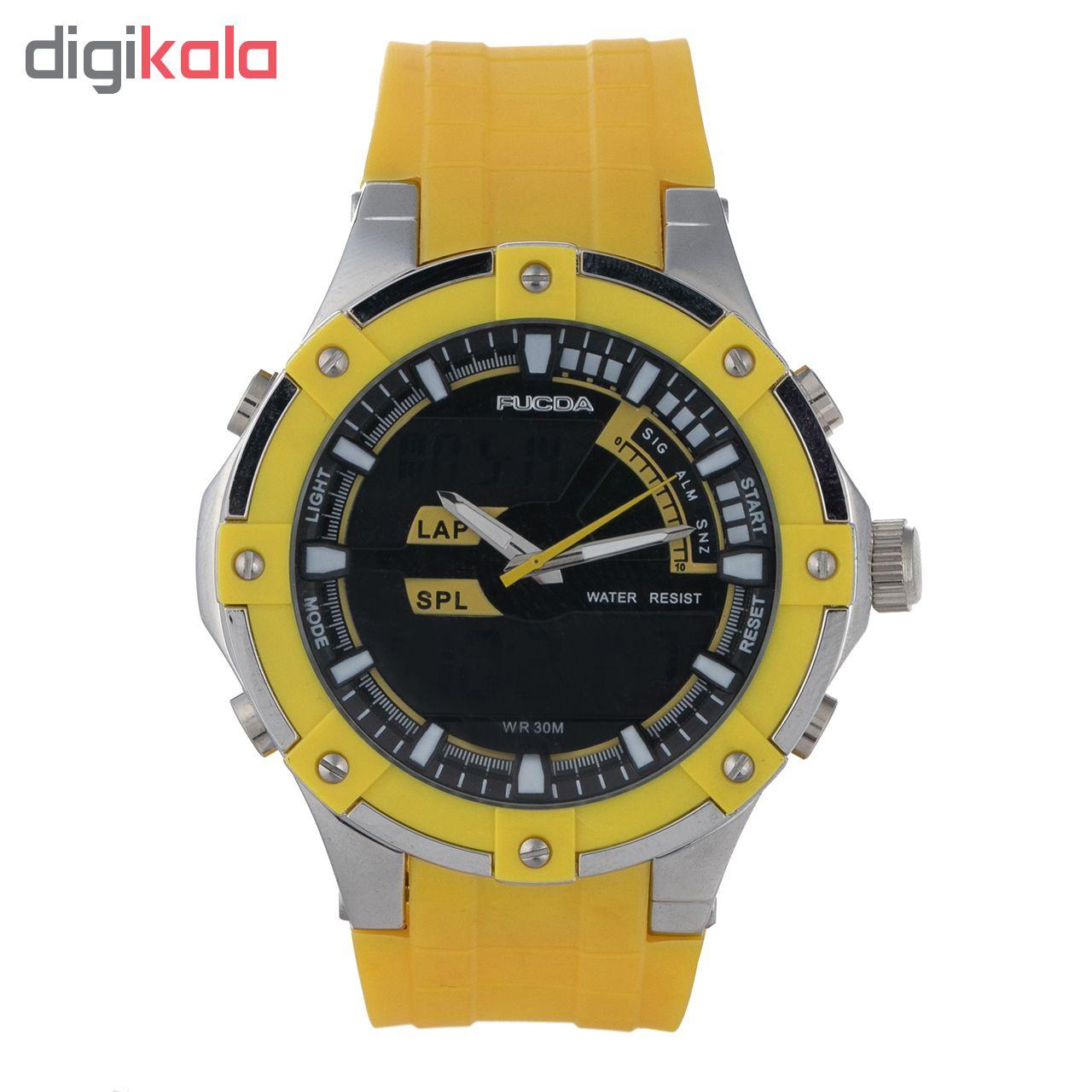 خرید ساعت مچی عقربه ای مردانه فوکدا مدل fcd8