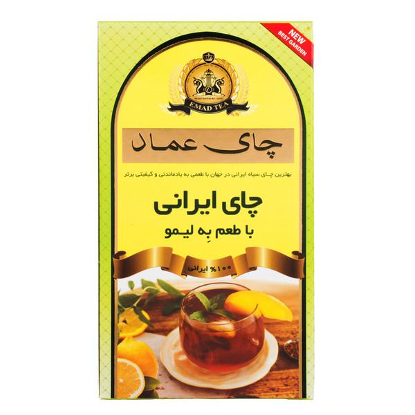 چای  ایرانی به لیمو عماد بسته 400 گرمی