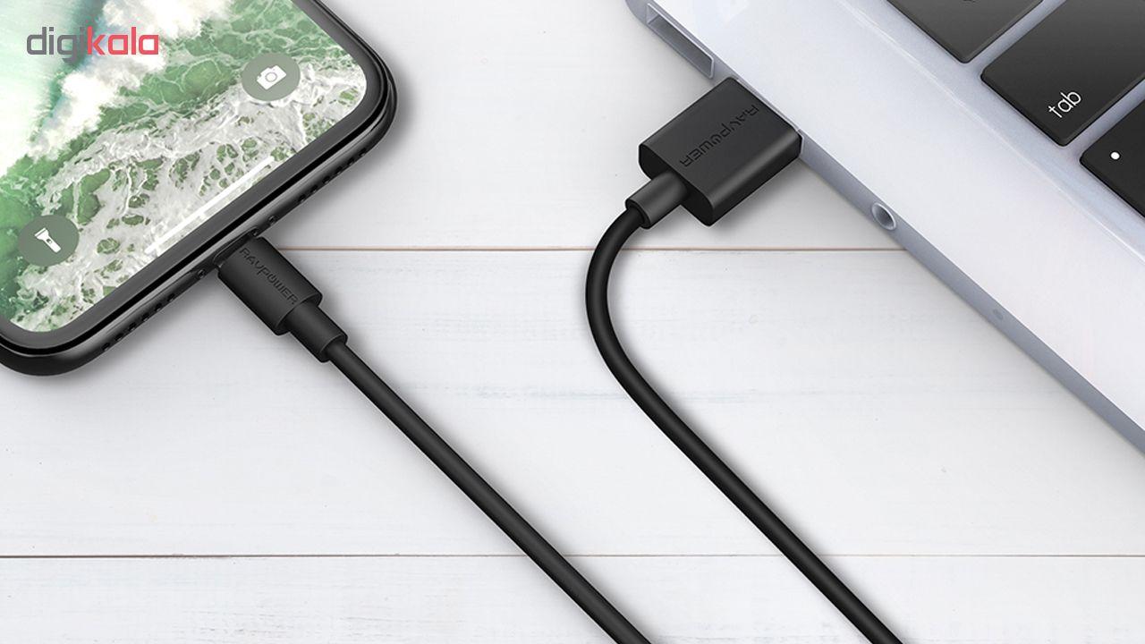 کابل تبدیل USB به لایتنینگ راو پاور مدل RP-CB031 طول 2 متر main 1 3