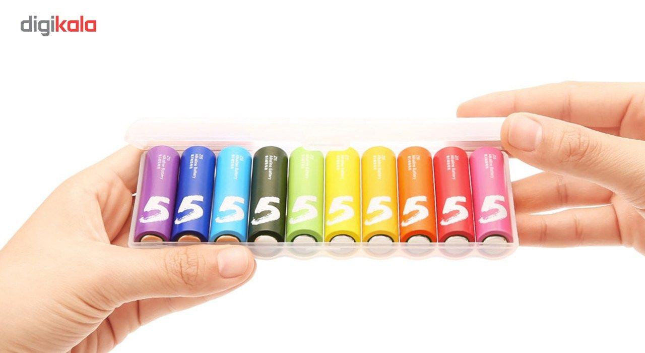 باتری قلمی آلکالاین شیاومی مدل ZI5 بسته 10 عددی main 1 1