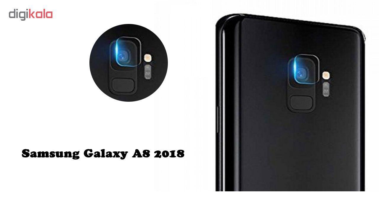 محافظ لنز دوربین هورس مدل UTF مناسب برای گوشی موبایل سامسونگ Galaxy A8 2018 main 1 2