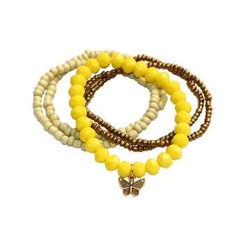 دستبند زنانه مدل 07S مجموعه 5 عددی سایز Free Size
