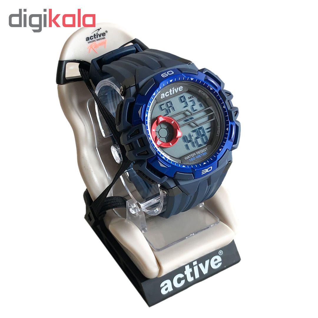 خرید ساعت مچی دیجیتال مردانه اکتیو مدل yp16717