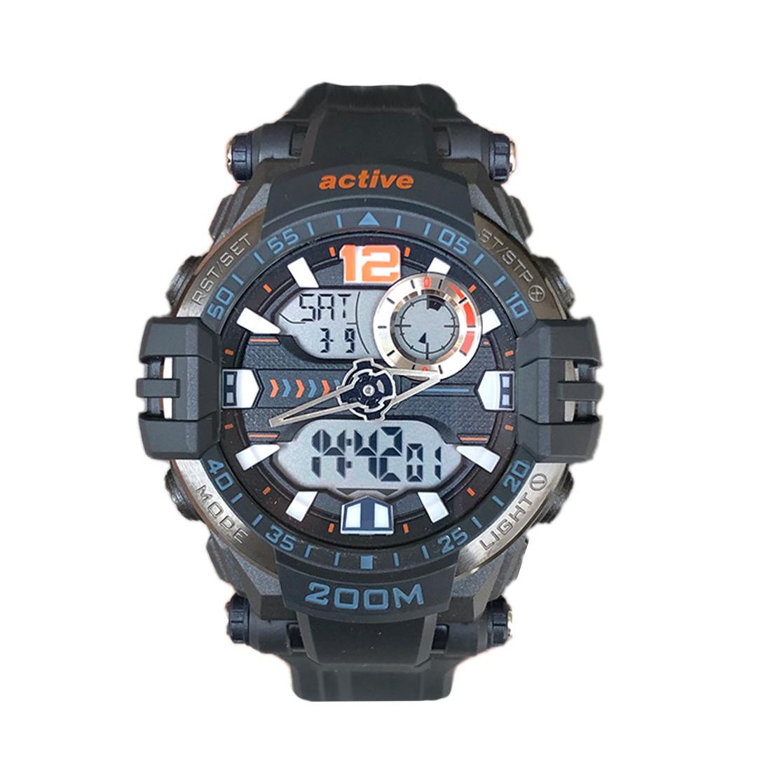 ساعت مچی دیجیتال مردانه اکتیو مدل yp17732-bl